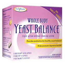 Enzymatic Therapy Whole Body Yeast Balance - 1 Kit