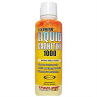 Iron Tek - Essential Liquid Carnitine 1000 Natural Vanilla - 16 oz.
