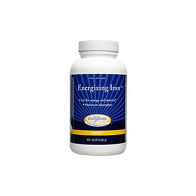 Enzymatic Therapy Energizing Iron, Softgels, 90 ea