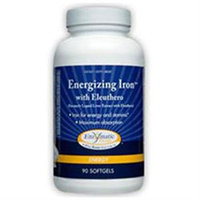 Enzymatic Therapy Energizing Iron with Eleuthero - 90 Softgels