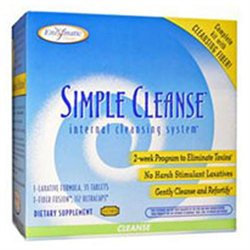 Enzymatic Therapy Simple Cleanse - 1 Kit - Intestinal/Colon Support