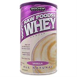 Biochem Sports Raw Foods and Whey Vanilla - 11.7 oz