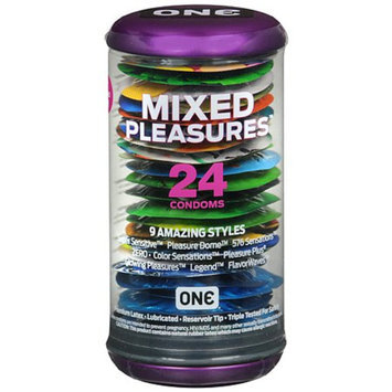 ONE Condoms Mixed Pleasures Condoms