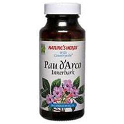 tures Herbs Nature's Herbs Pau D'Arco Innerbark - 100 Capsules