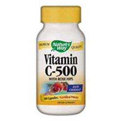 tures Way Nature's Way Vitamin C-500 with Rose Hips