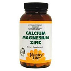 Country Life Target-Mins Cal-Mag- Zinc Tabs