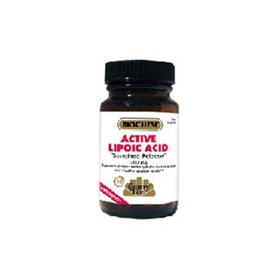 Biochem Active Lipoic Acid 60 Tablets, Country Life
