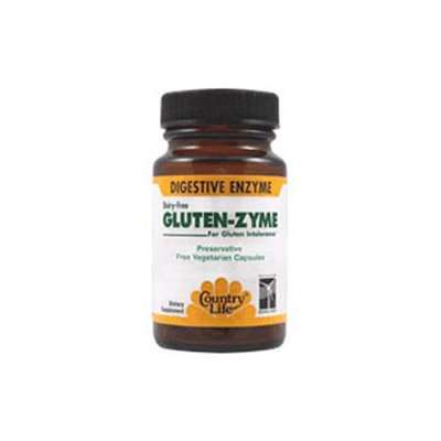 Country Life Gluten-Zyme - 60 Vegetarian Capsules
