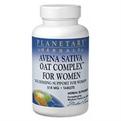 Planetary Formulations Avena Sativa/Wom - 100 Tablets - Male Intimacy Herbs
