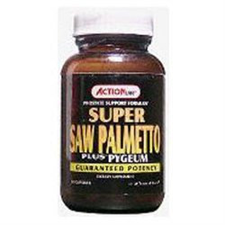 Action Labs Super Saw Palmetto Plus Pygeum, 50 ct