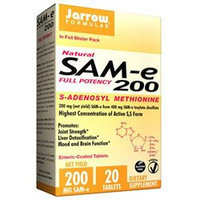 Jarrow Formulas SAM-e 200 - 20 Enteric-Coated Tablets