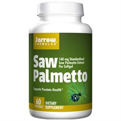Jarrow Formulas Saw Palmetto, 60 Softgels (pack Of 2)