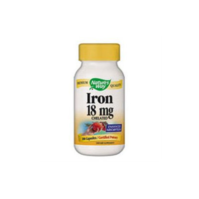 tures Way Nature's Way Iron - 18 mg - 100 Capsules
