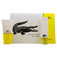 Giorgio Beverly Hills, Inc. Challenge Refresh Lacoste 2 pcGift Set Men