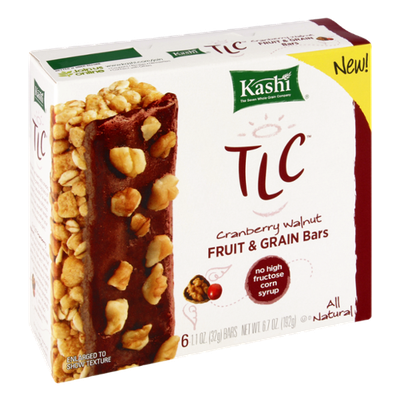 Kashi® TLC Cranberry Walnut Fruit & Grain Bars