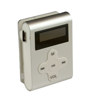 Mach Speed 4GB MP3 Player - CLD4SL - Silver