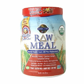 Garden of Life RAW Meal Replacement, Vanilla Spiced Chai, 1.2 lbs