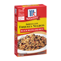 McCormick® Arroz Con Frijoles Negros, Black Beans and Rice Mix