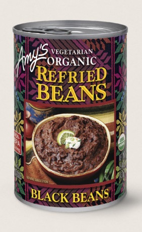 Amy's Kitchen Organic Vegetarian Refried Black Beans