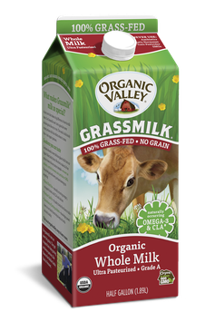 Organic Valley® Whole Grassmilk, Half Gallon