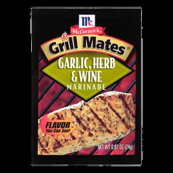 McCormick® Grill Mates® Garlic Herb & Wine Marinade