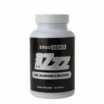 ErgoGenix ERGOZZZ Zinc, Magnesium & Melatonin, Capsules, 90 ea