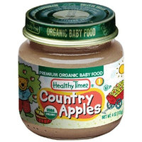 Healthy Times Premium Organic Baby Food, Country Apples 1, 4-Ounce Jar (Pack of 12)