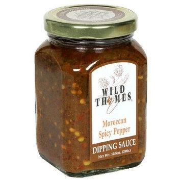 Wild Thymes Sauce Dip Spcy Ppr 10.5 OZ (Pack of 6)