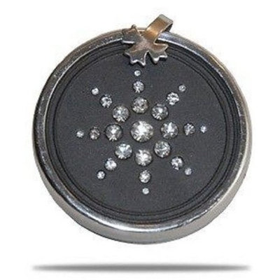 QBP Fashion Pendant QBP Scalar Energy(tm) Pendant with Crystals Sequence Clasp Ring & Chain