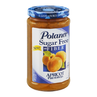 Polaner Apricot Preserves Sugar Free with Fiber