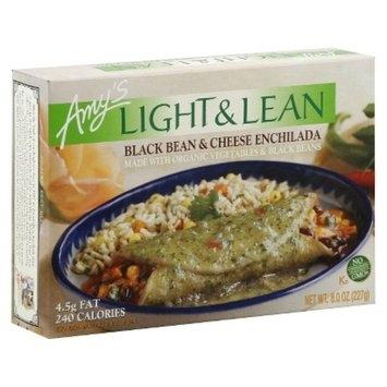 Amy's Kitchen Light & Lean Black Bean and Cheese Enchilada 8 oz