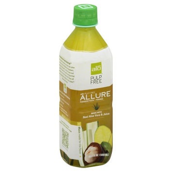 ALO - Original Aloe Drink Allure Mangosteen Mango - 16.9 oz.