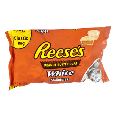 Reese's Peanut Butter Cups White Miniatures
