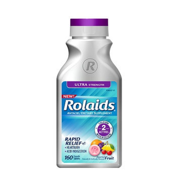Rolaids Ultra Strength Tablets, Fruit, 160 ea