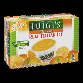 Luigi's Real Italian Ice Orange - 6 CT