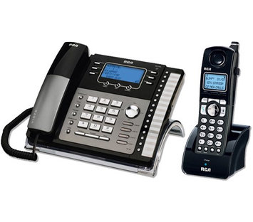 GE/RCA 25425RE1 & H5401RE1 GE / RCA Cordless / Corded Phone System