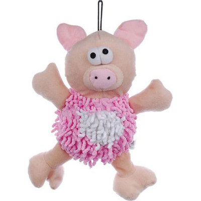 Krislin Mop Pig Plush Dog Toy