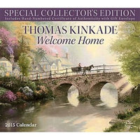 Thomas Kinkade Special Collector's Edition 2015 Deluxe Wall