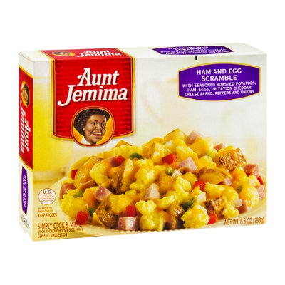 Aunt Jemima Scramble Ham and Eggs