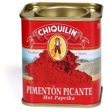 Hot Paella Chiquilin Hot Paprika 2.64 oz Tin