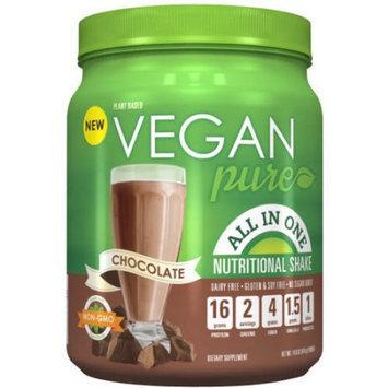 Platinum Us Distribution Vegan Pure Chocolate Nutritional Shake Dietary Supplement, 14.6 oz