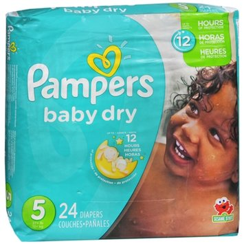 Pampers Baby Dry Diapers Size 5 Jumbo Pack