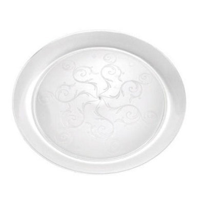 Fineline Settings 309 Savvi Serve 9 in. Clear Plate