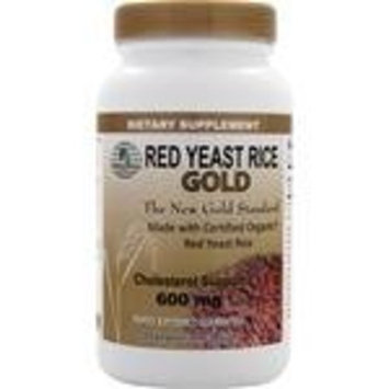 Givenchy Red Yeast Rice Gold 600 mg. - IP6 International - 120 Vegetarian Capsules
