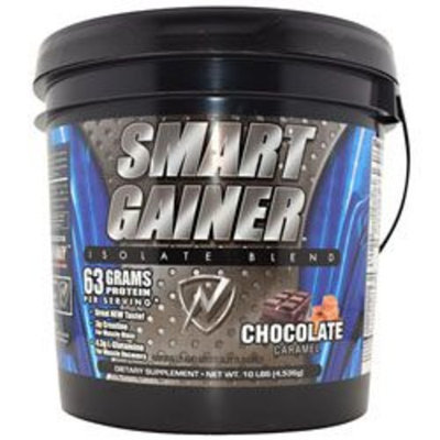 IDS Smart Gainer [Chocolate Caramel 10 lbs (160 oz) 4536 g]