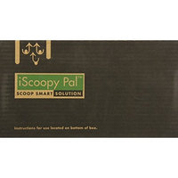 Iscoopy Pal dog poop bag, 30 units, large, green