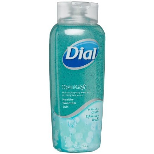 Dial Clean & Soft Body Wash, Spa Minerals & Exfoliating Beads