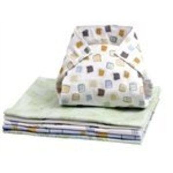 Kushies Washable Pre-Folded Cloth Diapers - Neutral