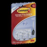 Command Utensil Hooks Clear - 3 CT