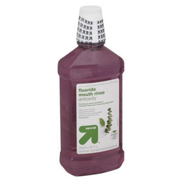 up & up up&up Anticavity Eucalyptus Mint Fluoride Mouth Rinse - 33.8 oz